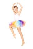 Focused ballet dancer Stock Image
