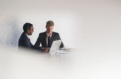 Focused on boardroom business Royalty Free Stock Photography