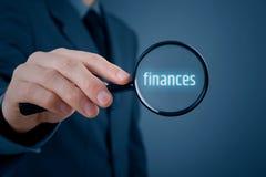 Focused on finances Royalty Free Stock Photo
