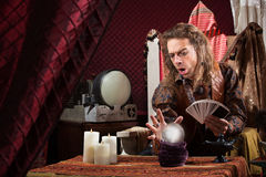 Focused Fortune Teller Stock Images