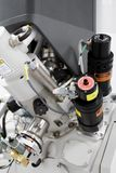 Focused Ion Beam. Machine for semiconductor processing royalty free stock photo