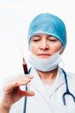 Focused nurse Stock Image