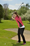 A Focused Swing Stock Images