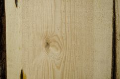 Focused texture of some piece of wood. Texture of some piece of wood Royalty Free Stock Photography