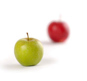 Focusing On Apples Stock Image