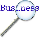 Focusing on Business Stock Image