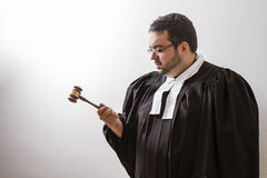 Focusing on the gavel Stock Images