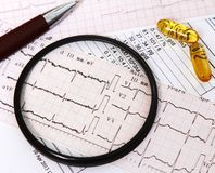 Focusing on heart diseases Stock Photography