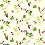 Fodd seamless pattern Royalty Free Stock Photo