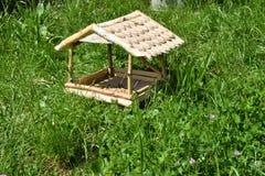 Fodder rack for the bird Stock Photo