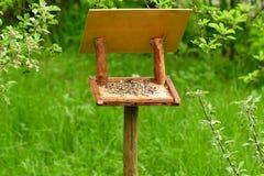 fodder rack for birds Royalty Free Stock Photos