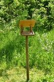 fodder rack for birds Stock Photo