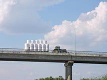 Fodder transportation Stock Photography