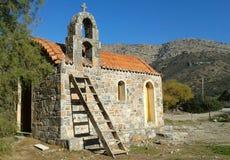 Fodele海滩教会 库存照片
