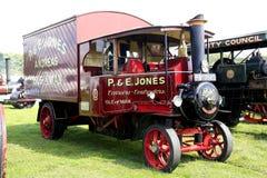 1931年Foden蒸汽无盖货车 库存照片