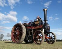 The Foden Traction Engine Stock Photo