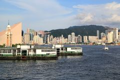 Fodera di passeggero, Hong Kong Immagine Stock Libera da Diritti