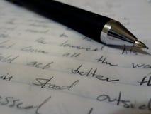 fodrad paper blyertspenna Royaltyfria Bilder