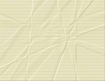 fodrad paper yellow Royaltyfri Fotografi