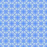 Fodrar den sömlösa färgade blom- organiska triangeln för vektorn den sexhörniga geometriska modellen stock illustrationer