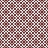 Fodrar den sömlösa färgade blom- organiska triangeln för vektorn den sexhörniga geometriska modellen royaltyfri illustrationer