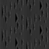 Fodrar den sömlösa moiremodellen för den abstrakta vektorn med vinkande krulla vektor illustrationer