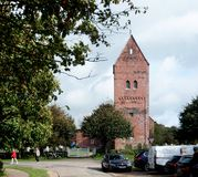 Church on Foehr Island. Foehr or Föhr is one of the North Frisian Islands on the German North Sea coast. It is located in the federal state of Schleswig Royalty Free Stock Images