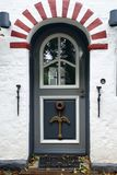 Door on Foehr Island Royalty Free Stock Photo