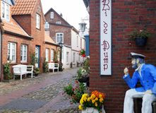 Foehr Island. Foehr or Föhr is one of the North Frisian Islands on the German North Sea coast. It is located in the federal state of Schleswig-Holstein Stock Images
