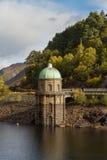 Foel tower water intake garreg ddu reservoir Stock Images