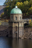 Foel tower water intake garreg ddu reservoir Royalty Free Stock Images