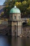 Foel tower water intake garreg ddu reservoir Royalty Free Stock Images