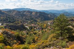 Fofest on Troodos mountains Stock Images