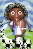 Fogão africano Fotografia de Stock Royalty Free