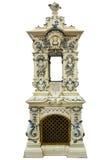 Fogão da telha (para se aquecer) Imagens de Stock Royalty Free