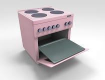 Fogão de cozinha Imagem de Stock Royalty Free