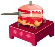 Fogão de cozinha Imagens de Stock