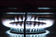 Fogão de gás imagem de stock