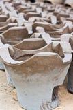 Fogão tailandês do BBQ do carvão vegetal Foto de Stock