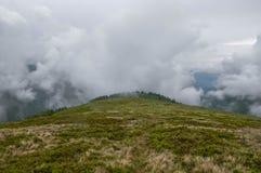 fog горы Стоковая Фотография