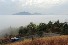 fog долина Стоковое фото RF