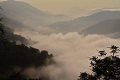 fog долина Стоковое Фото