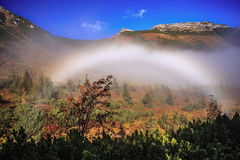Fog bow Stock Photos