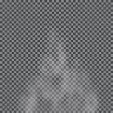 Fog, cloud, smoke transparent special effect. stock illustration