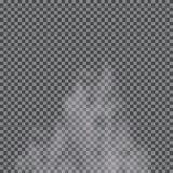Fog, cloud, smoke transparent special effect. royalty free illustration