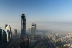Fog in Dubai Stock Photo