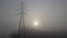 Fog of fear stock photo