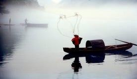 Fog Floating Over Little East River Stock Image