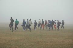 Fog in Kolkata Royalty Free Stock Photo