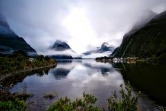 Fog, Lake, Landscape Royalty Free Stock Image